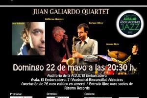 jazz en el embarcadero - Juan Galiardo Quartet