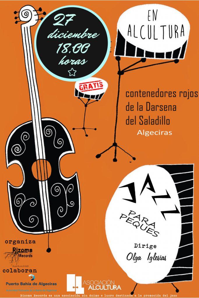 cartel 2018 jazz para peques Alcultura